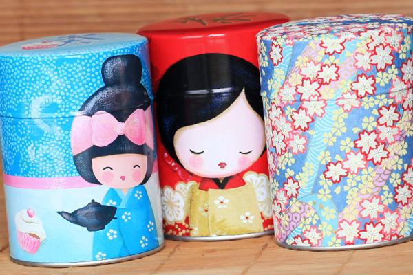 Boîtes à thé Myriam Lakraa