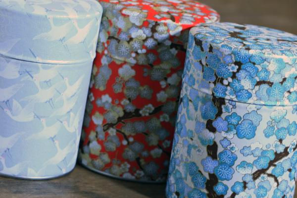Boîtes à thé washi