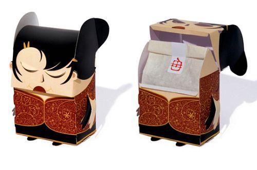Chinese tea box