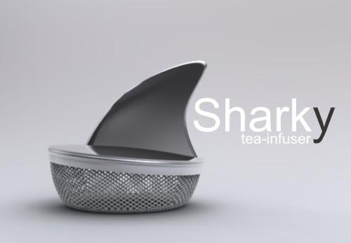 Sharky infuseur thé