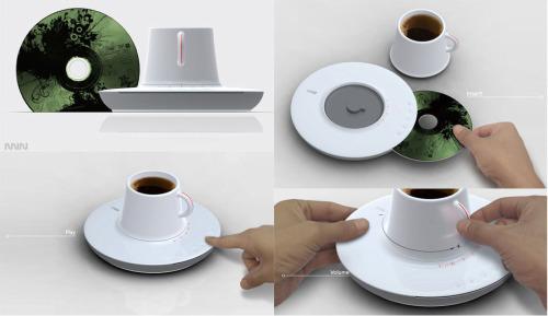 Tasse à thé CD