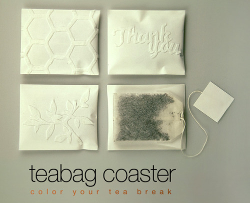 Teabag coaster
