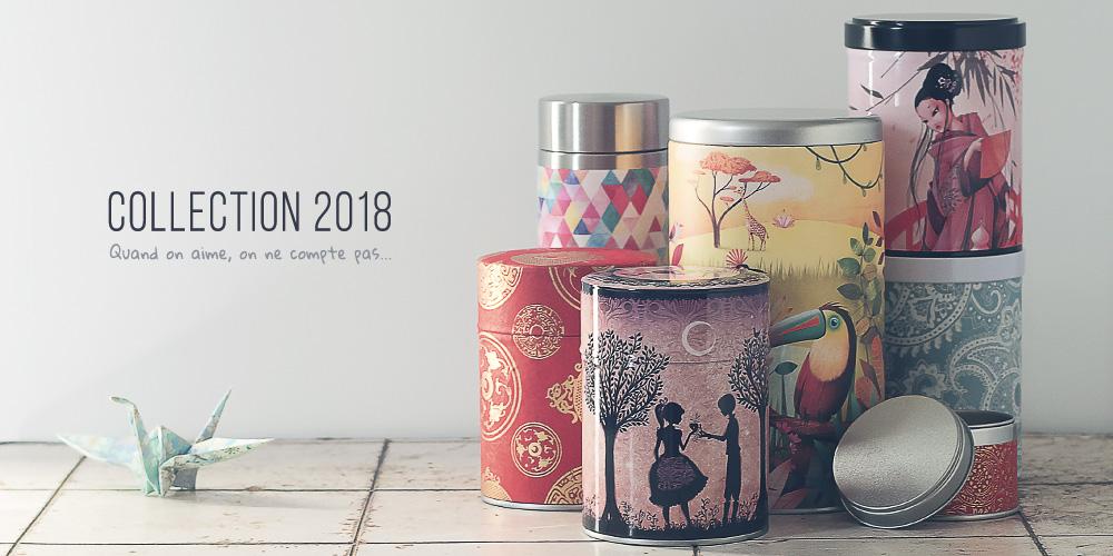 Boîtes à thé café 2018