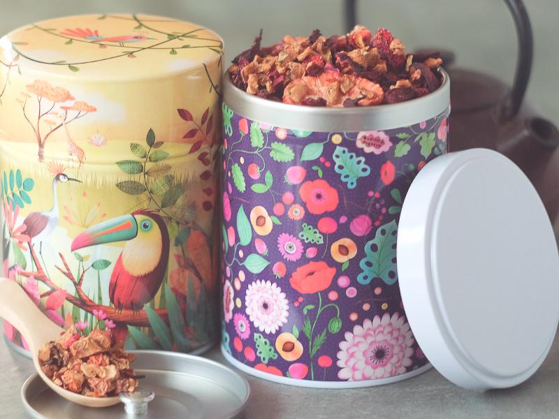 Boîtes à thé Marie Desbons